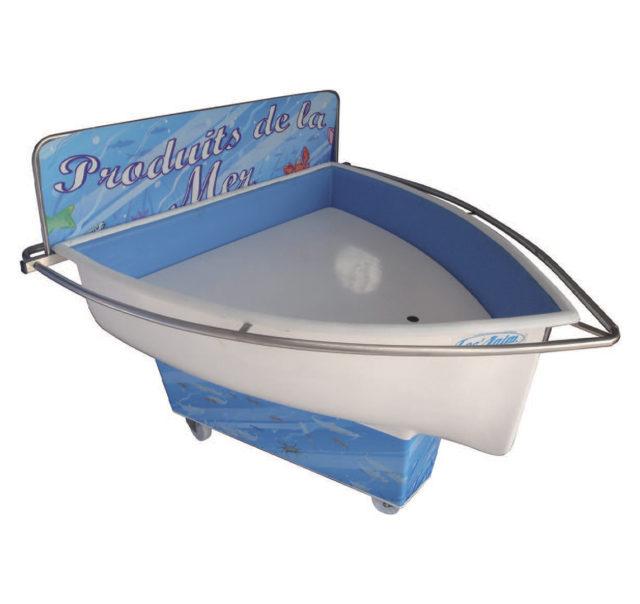 barque de vente de produits Marée