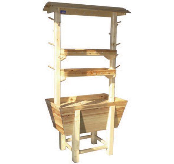 loc concept location de pr sentoir sec charrette. Black Bedroom Furniture Sets. Home Design Ideas